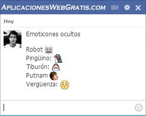 Emoticones ocultos en Facebook