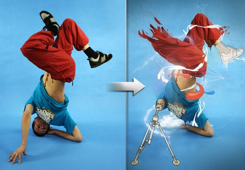 Dance Photo Manipulation