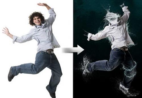 Efecto Hombre de agua