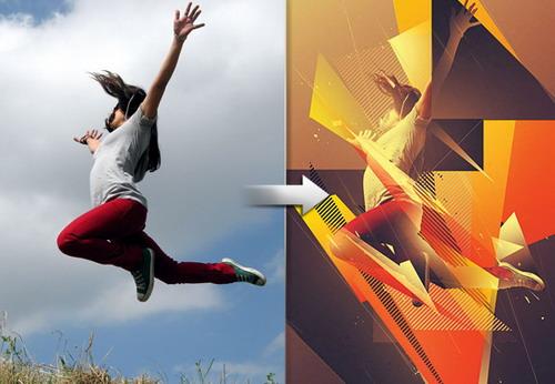Efecto energía y el dinamismo en fotografía