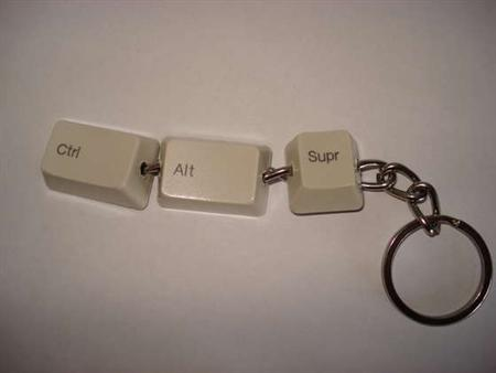 Llavero de teclado