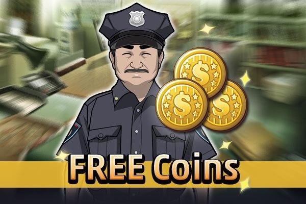 Monedas gratis en Criminal Case