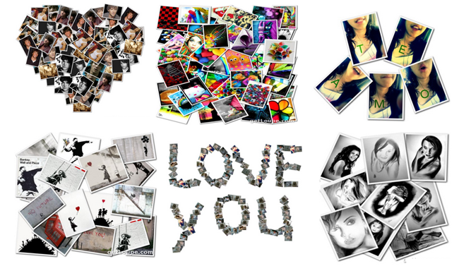 Crear collage de fotos online