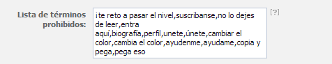 Tutorial Evitar SPAM en las Fanpages de Facebook 2