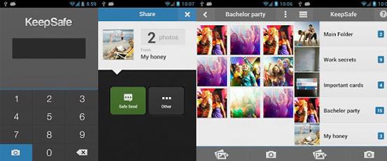 ocultar fotos y videos en Android