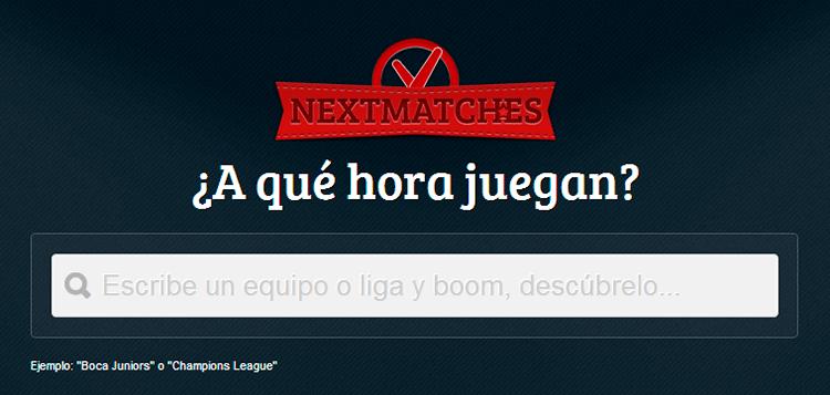 NextMatch