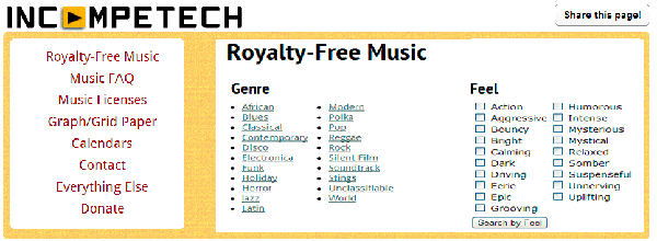 Royalty-Free Music