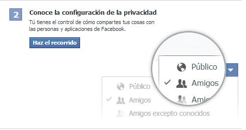 Registrarse en Facebook 3