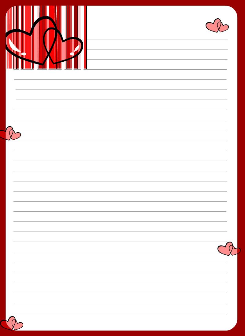 Fondos Para Escribir Cartas De Amor Marco Carta
