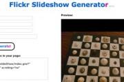 flickr-slideshow-generator