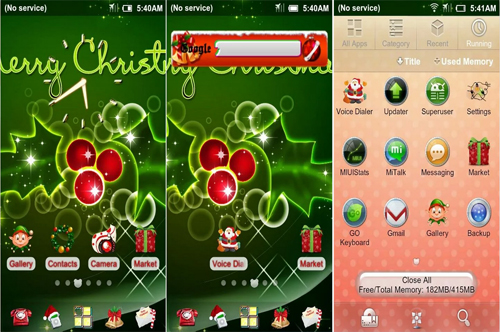HD Christmas Theme