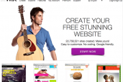 wix crear sitio web