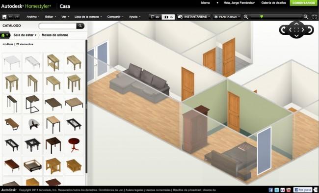 Autodesk homestyler dise a tu propia casa - Disenar tu propia casa ...
