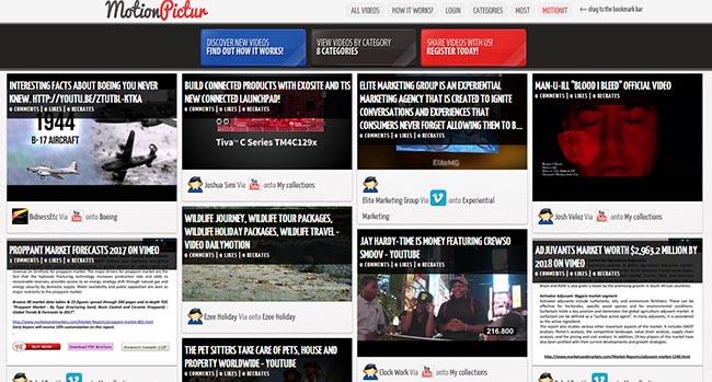 MotionPictur red social de videos