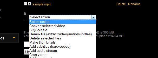 Editar videos en internet