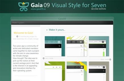 Gaia09 Green Visual Style
