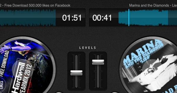 Aplicación de DJ Online