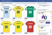 Crear camiseta de futbol con tu nombre online