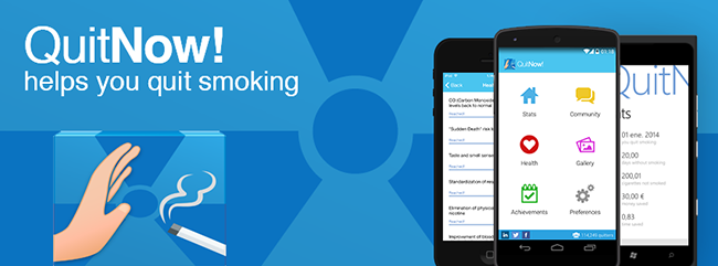 QuitNow - Dejar de fumar