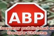 Bloquear publicidad en Google Chrome