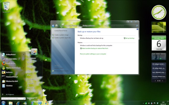 Clear Glass para Windows 7