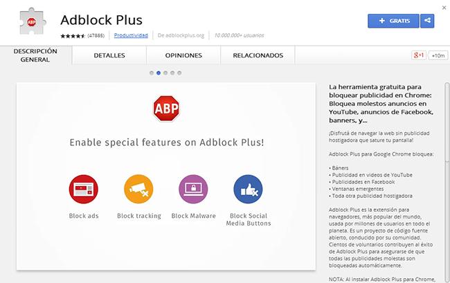 Descargar Adblock Plus gratis