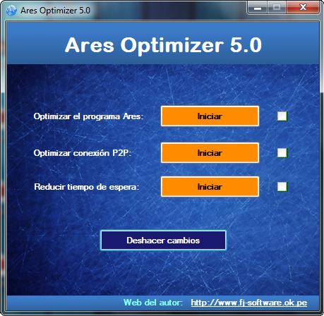 Descargar Ares optimizer 5.0