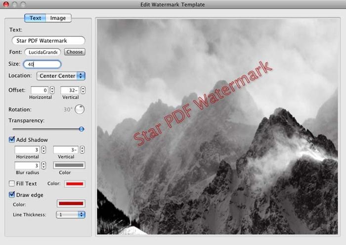 Añadir marca de agua a PDF