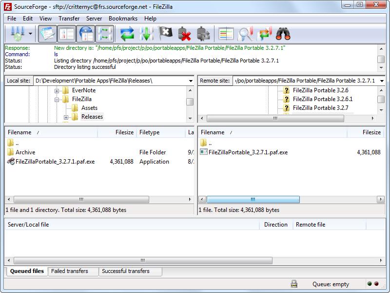 Descargar FileZilla gratis