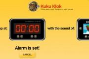 Reloj despertador online