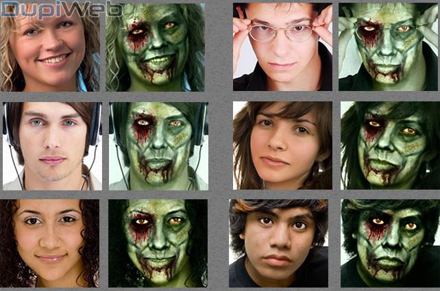 Efectos de zombie online
