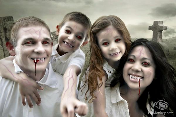 Efectos para fotos Halloween