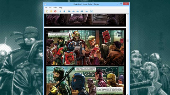Paper Comic Viewer