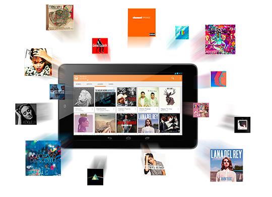 Google Play Music para Android