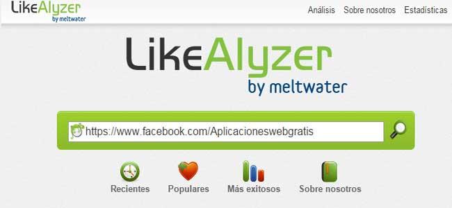 LikeAlyzer, Análisis para tu página de Facebook