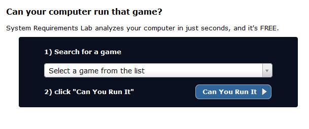 Descubre si te corren los juegos de PC