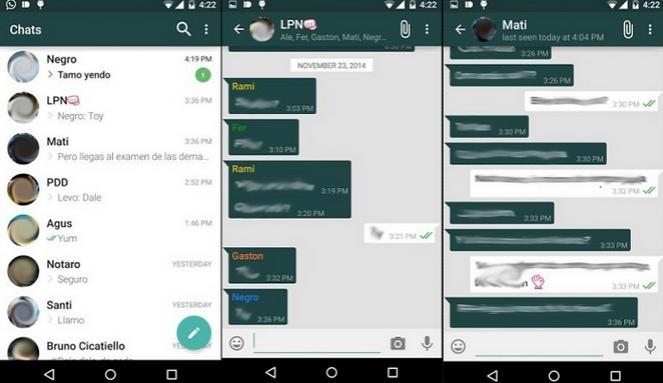 Descargar nueva versión de WhatsApp