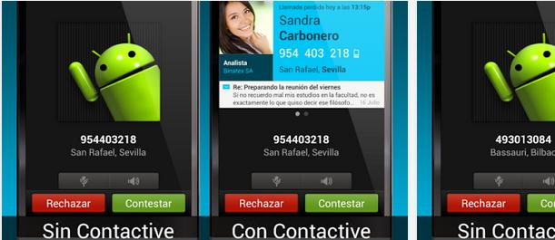 Aplicaciones para saber quién me llama, Contactive