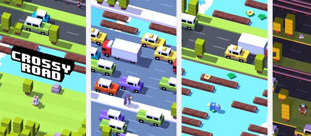 Juegos más difíciles para Android, Crossy Road