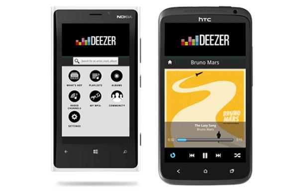Deezer, aplicaciones para escuchar música online