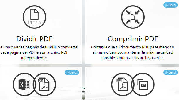 Herramienta para documentos PDF