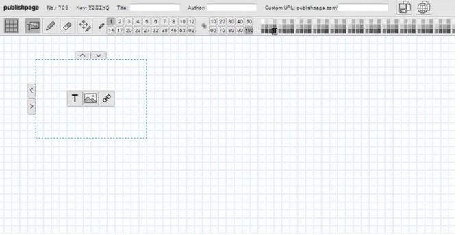 PublishPage, crear páginas web