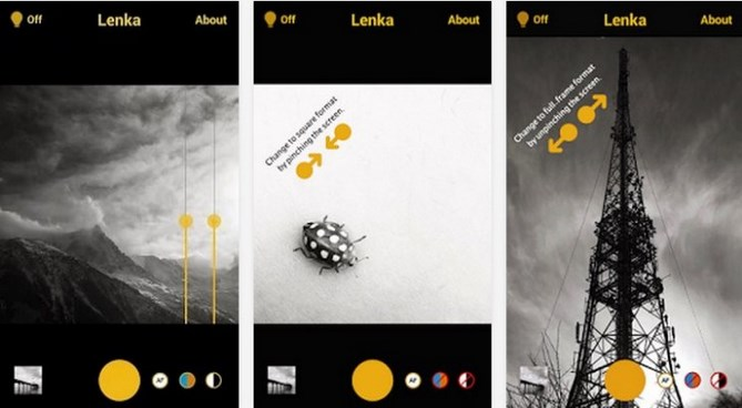 Aplicación para editar fotografías en Android