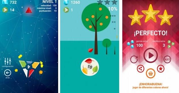 Giros, juego para android muy adictivo