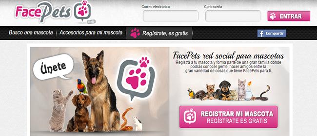 FacePets, una red social para mascotas en español