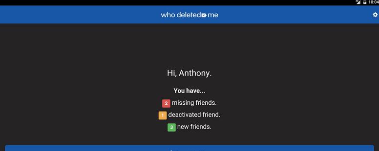 cómo saber si me eliminaron de Facebook